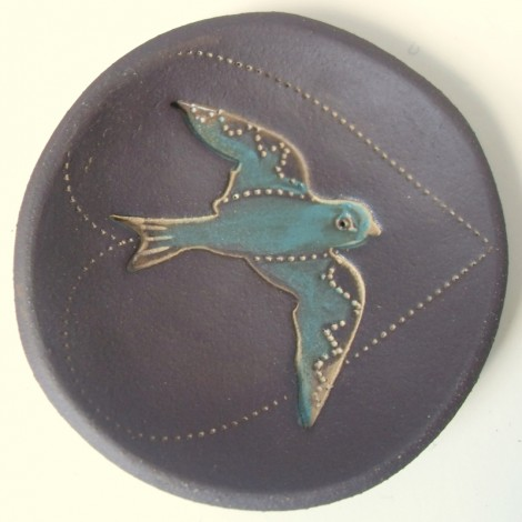 Blue Bird small dish