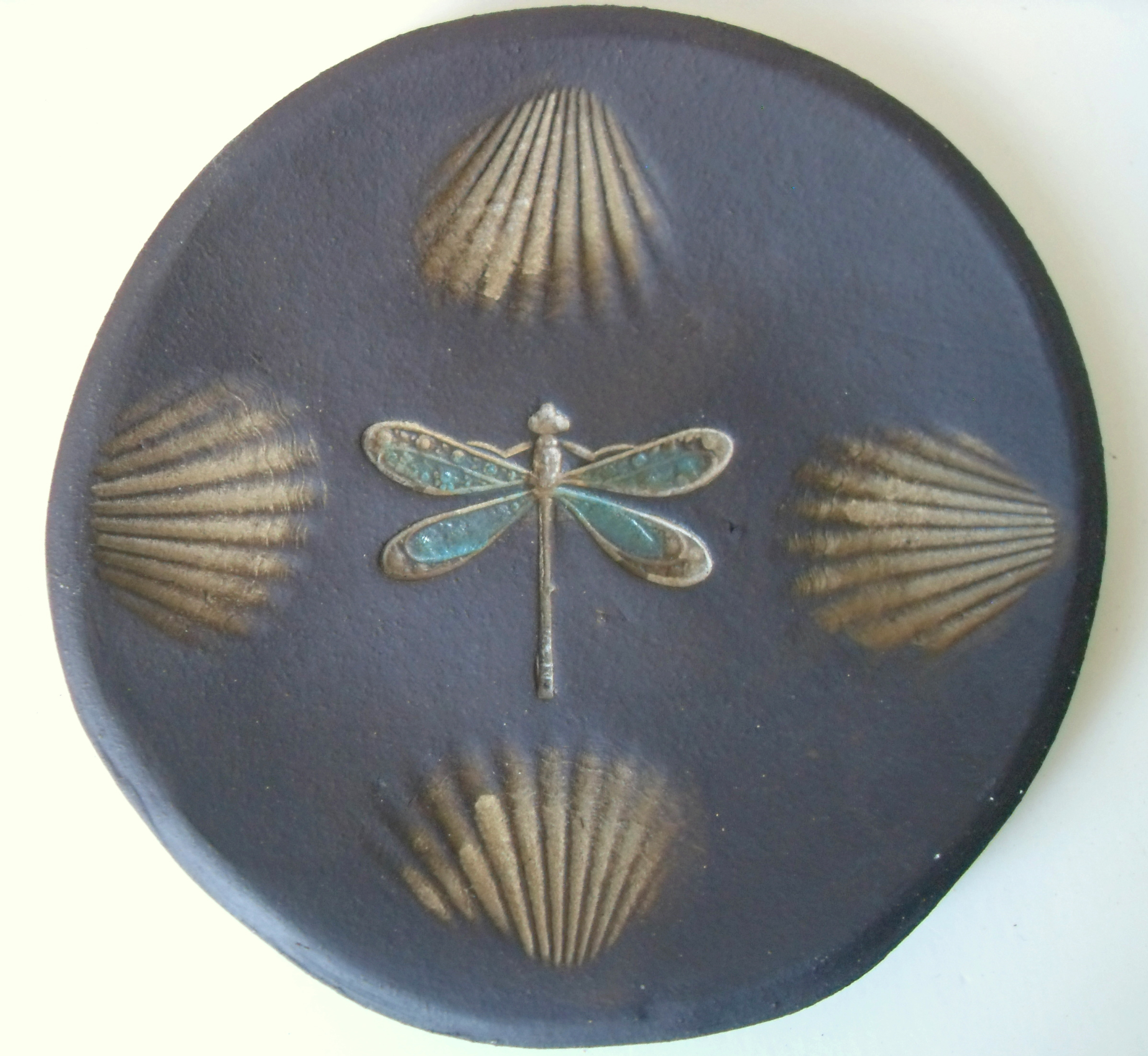 Dragonfly Shell dish