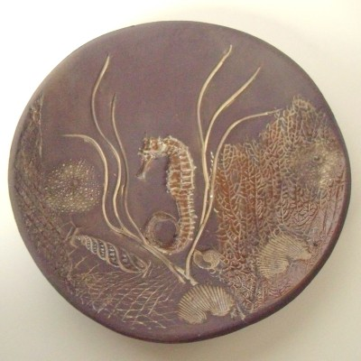 Seahorse Plate