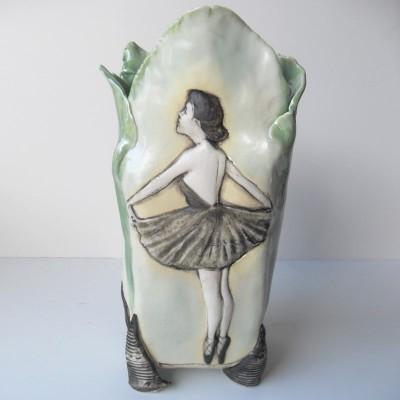 ballerina vase