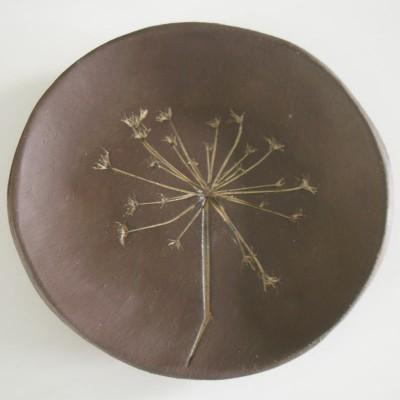 chocolate anise plate