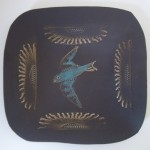 square bird dish
